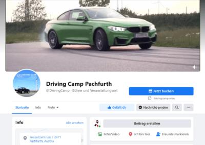 Facebook: Driving Camp