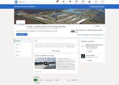 LinkedIn & XING: Friends + Experts